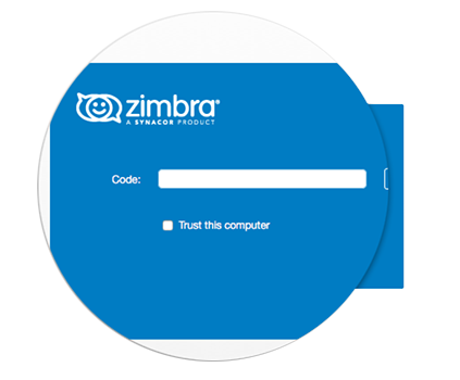 Zimbra two-factor authentication helps your Company improve Security