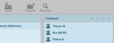 วิธี Export / Import Contacts ใน RoundCube - ศูนย์ข้อมูล
